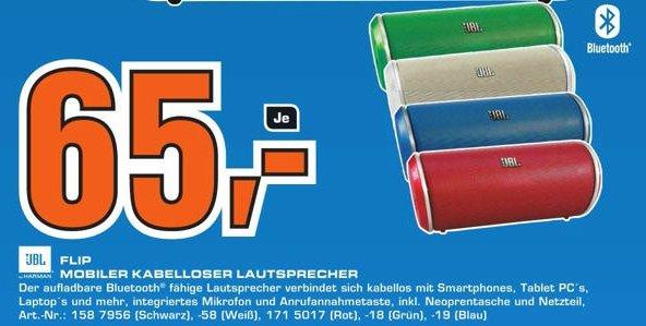 [lokal Saturn Berlin Schloßstraße] JBL Flip für 65 Euro!!! (mobiler Lautsprecher)