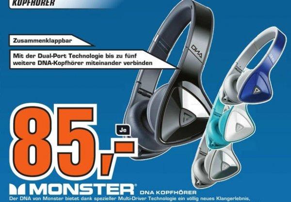 [lokal Saturn Berlin Schloßstraße] Monster DNA On Ear für 85 Euro