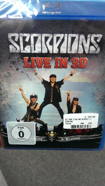 Blu Ray Scorpions Live in 3D Media Markt Frankfurt Nordwestzentrum