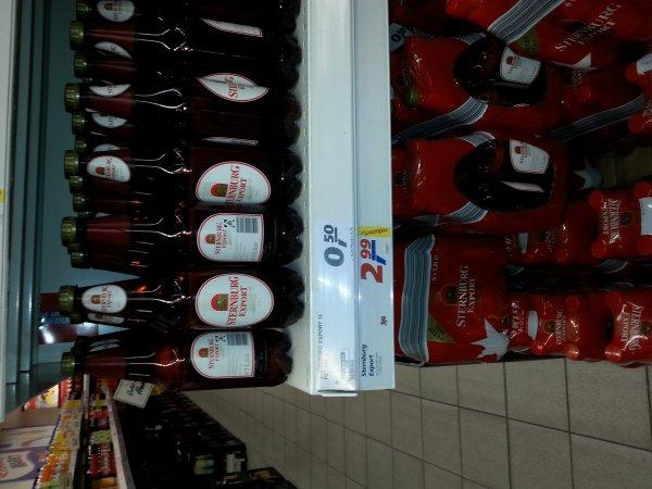 Lokal Real DD Bannewitz Sternburger Pils 1L 0, 50 €