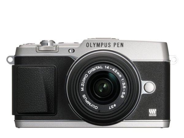 Olympus E-P5 silber 14-42mm @amazon