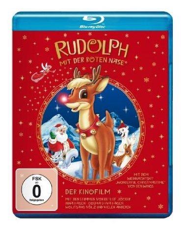 Weihnachten steht vor der Tür: RUDOLPH MIT DER ROTEN NASE - Der Kinofilm [Blu-ray]