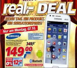 REAL SAMSUNG GALAXY S DUOS pure-white