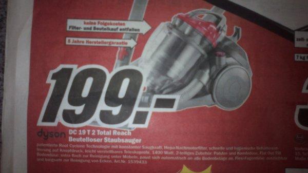 Dyson  DC 19 T2 Total Reach, Beutelloser Sauger, Lokal: MM Heilbronn