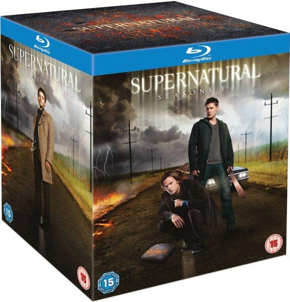[Blu-ray] Supernatural - Season 1-8 Complete  @Amazon.UK