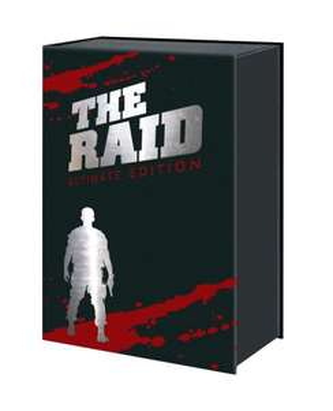 [Blu-ray + DVD + OST CD + Comic] The Raid Limited Edition 6 Discs @amazon.de 45€ statt 60€ (USK 18)