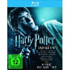 Harry Potter - Die Jahre 1-6 (Blu-ray) für 29,97€ inkl. Versand bei Amazon.de