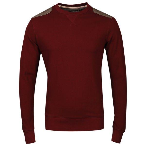 Brave Soul Men's Proxima Long Sleeve Sweatshirt - Wine 12,25 €inkl Versand