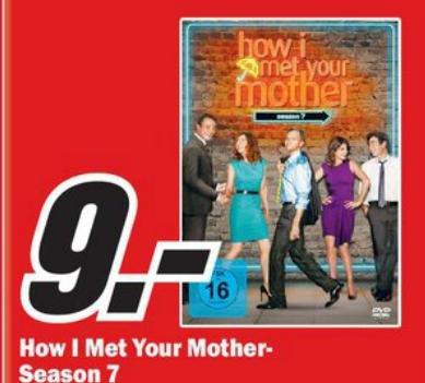 """[Lokal] Komplette Season 7 """"How I met your mother"""" für 9€!!"""