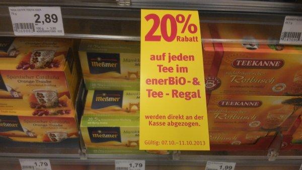 Offline - 20 Prozent Rabatt auf alle Tees und Bio Tees @rossmann