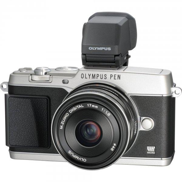 Olympus PEN E-P5  (silber) + 17mm F1.8 + VF4 für 1.174,50€ auf ebay (idealo 1499€)