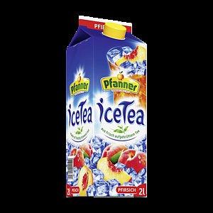 [REWE] Pfanner IceTea oder Der Grüne 2Liter Packung 1.11€ (1 l = 0.56)  Pfandfrei