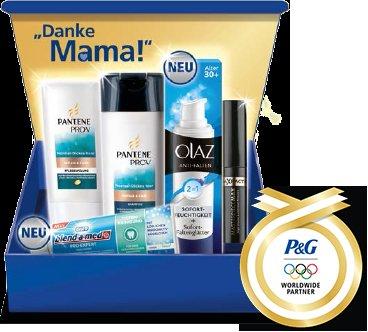 """""""Danke, Mama"""" - Gratis Beauty-Box beim Kauf von P&G Produkten im Wert von 15€"""