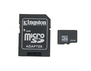 [focalprice.com] kingston 8GB Micro SD TF Memory Card with Micro SD Adapter für €5,00 incl. Versand