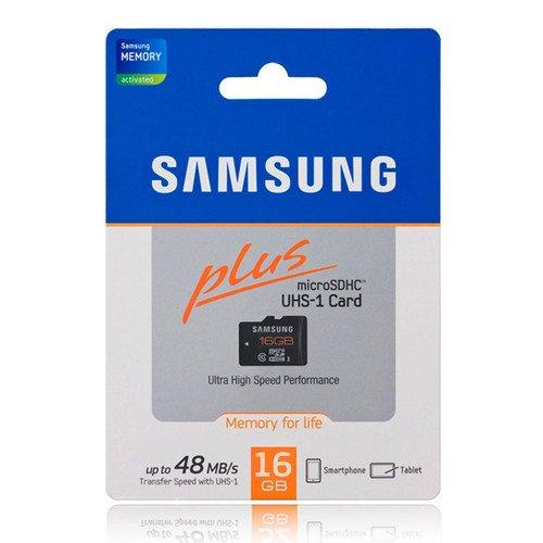 Samsung PLUS 16GB Micro SD Karte mit UHS-I (48 MB/s) 11,99 inkl. Versand. @ebay