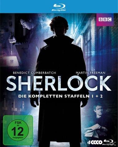 Sherlock Box mit Staffel 1&2 (Blu-ray) für 26,99 €