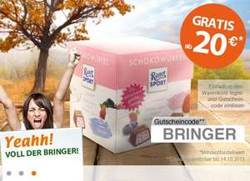 myTime.de - 4x Redbull für 4.44 € + Gratis Ritter Sport Schokowürfel