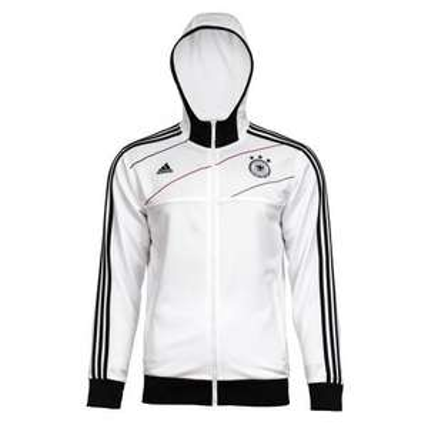 Adidas DFB Hooded Track Top 27,39 € statt UVP 64,95 € , Adidas DFB Handschuhe 4,99 statt 19,95