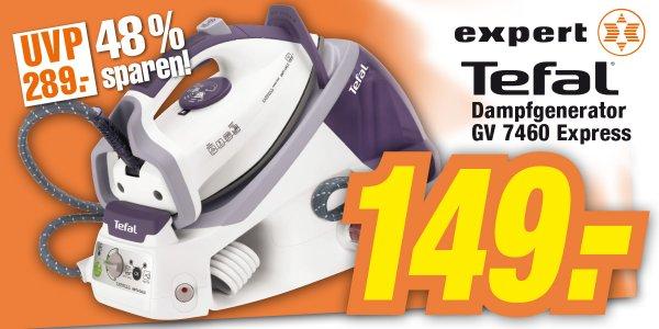 Tefal GV 7460 EXPRESS Antikalk Dampfgenerator