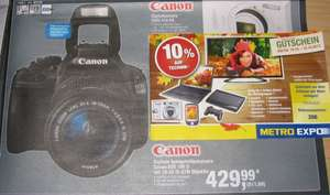 Canon EOS 100D Kit 18-55 mm [Canon IS STM] @Metro