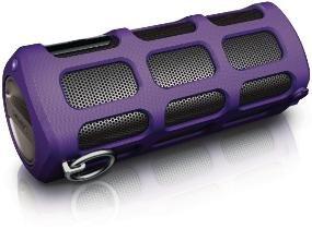 Philips SHOQBOX Bluetooth Speaker SB7260 violett für 79.99 € @ DC