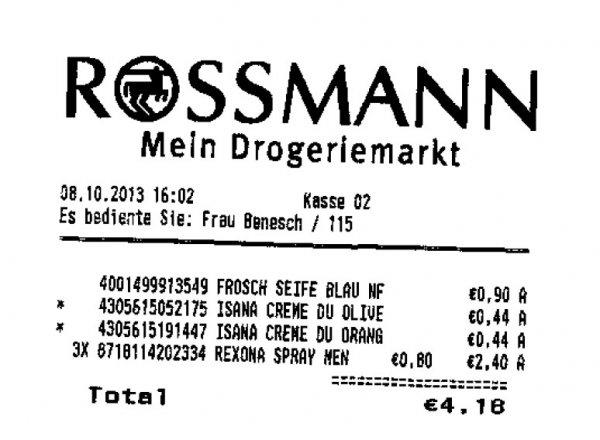 Rexona Deo Spray Men 0,80 EUR  für 150ml, beim Rossmann in München (Allach)