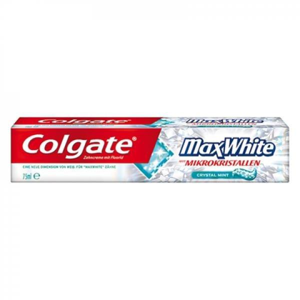 Colgate MaxWhite Zahnpasta mit Mikrokristallen oder Colgate Sensation White risikofrei GRATIS TESTEN bis zum 31.05.2014 (Geld zurück-Garantie)