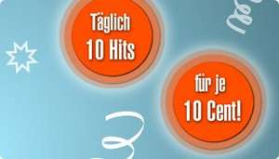 Musicload - täglich 10 Hits für je 10 Cent