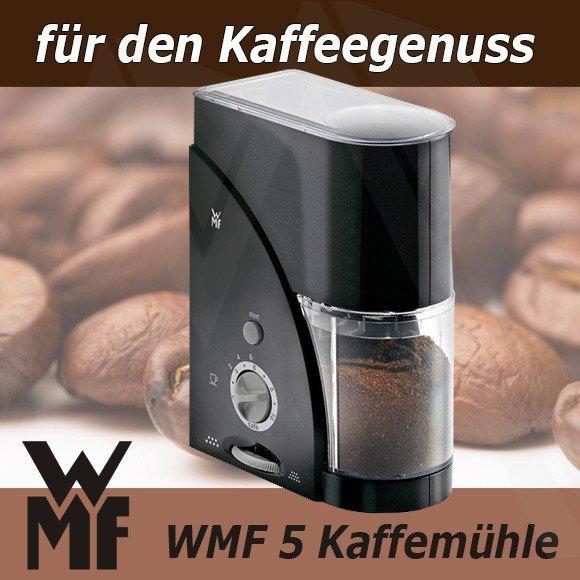 WMF 5 (elektrische Kaffeemühle mit Scheibenmahlwerk)