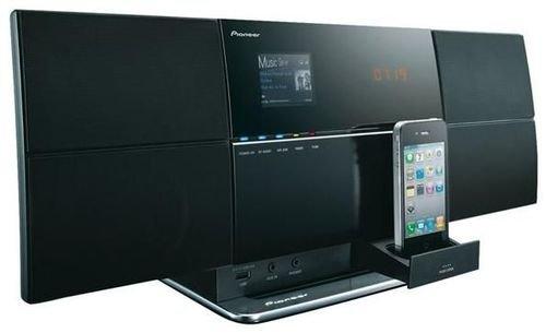 Pioneer X-SMC3-S Kompaktanlage (WiFi, Internet Radio, DLNA, 40 Watt, Apple AirPlay kompatibel, USB 2.0) silber/schwarz für 142€ @Computeruniverse
