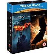 Batman Begins / The Dark Knight: Triple Play(5 Discs) (Blu-ray) für 10€ inkl. VSK @Play.com