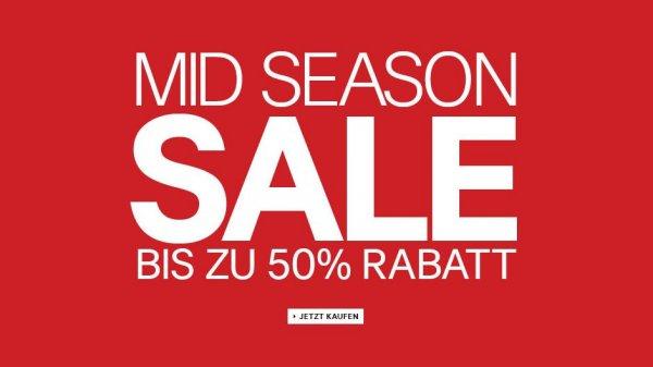 Mid Season Sale bei H&M - bis zu 50% Rabatt!
