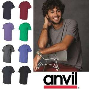10 er Pack T-Shirt Anvil USA gemixt für 19,99€ inkl. VSK