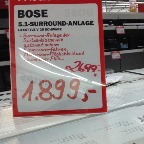 [LOKAL] Bose Lifestyle V25 MM Ludwigshafen-Oggersheim