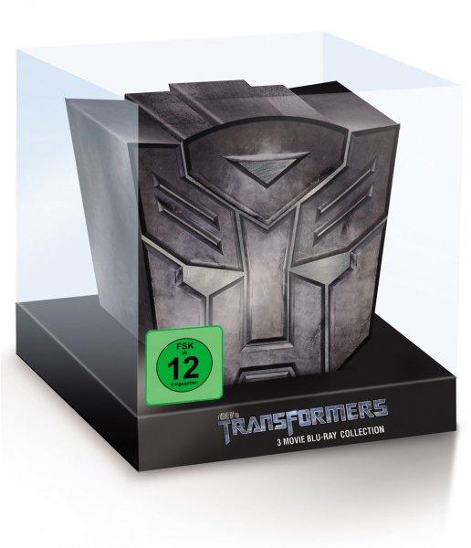 Transformers 1-3 (Limited Autobot Collection) [Blu-ray] für 40,99€ @Bücher.de