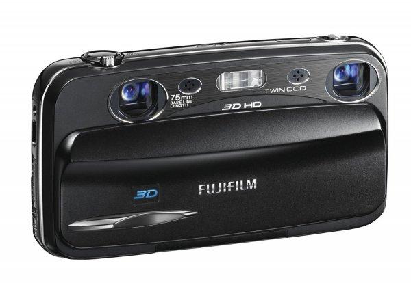Fujifilm FINEPIX REAL 3DW3 Digitalkamera (10 Megapixel, 3-fach opt. Zoom, 8,9 cm (3,5 Zoll) Display, 3D Aufnahmen) für 122€ @Amazon.uk
