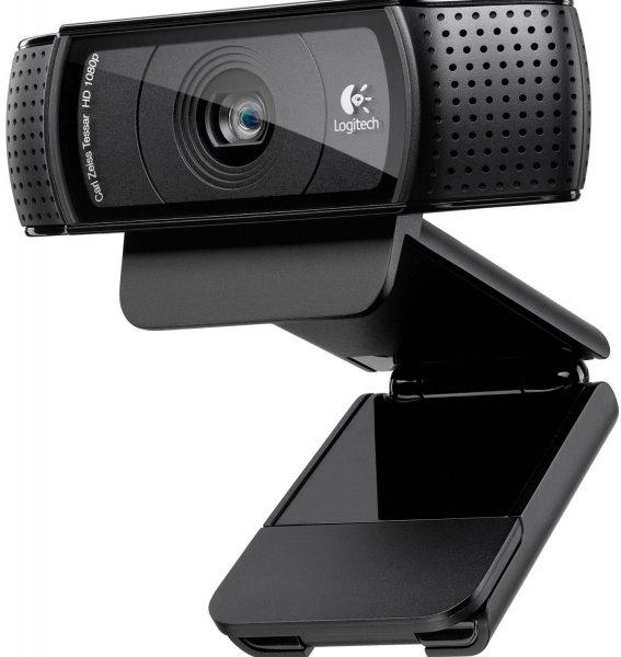Logitech C920 USB HD Pro Webcam (Autofokus, Mikrofon) schwarz für 65€ @Amazon
