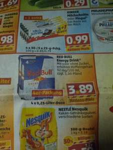 Penny - Red Bull 4er Packung