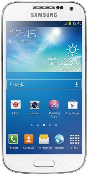 Samsung Galaxy S4 mini weiß 299,-€, Versand inkl.