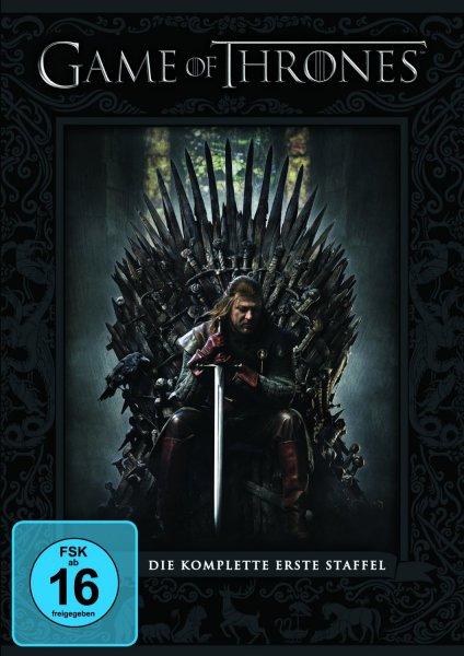 Media Markt online/Amazon.de: Game of Thrones Staffel 1 auf DVD für 9,90€ (MM versandkostenfrei/Ama leider nicht)
