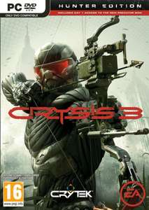 Crysis 3 Hunter Edition PC als deutcher Download Key für 9,90 Euro bei Ebay