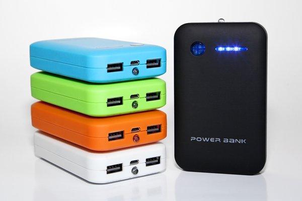 Powerbank 8600 maH mobiler AKku / 2 x USB / für 15,80 EUR incl. VSK