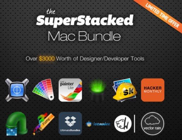 SuperStacked Mac Bundle mit 12 Tools im Wert von 3000$ für nur 24,40€
