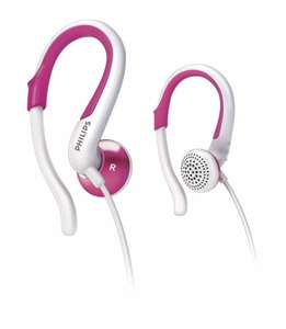 Philips SHS4848 Sport In-Ear Kopfhörer pink [Deal Club]
