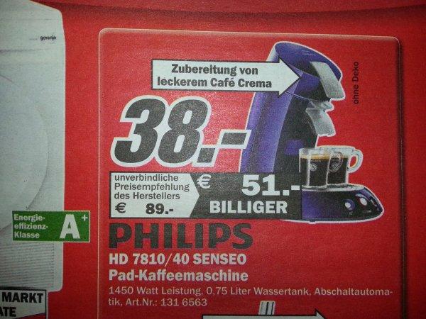 [Lokal MM Rostock] Philips Senseo HD 7810/40
