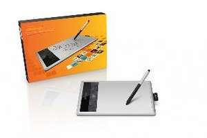 Wacom Bamboo Fun Medium CTH-670 Grafiktablett in Silber für 99,99€ @DC