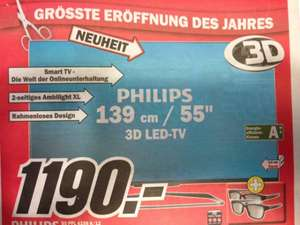 Philips 55 PFL 6158 K/12 3D LED TV