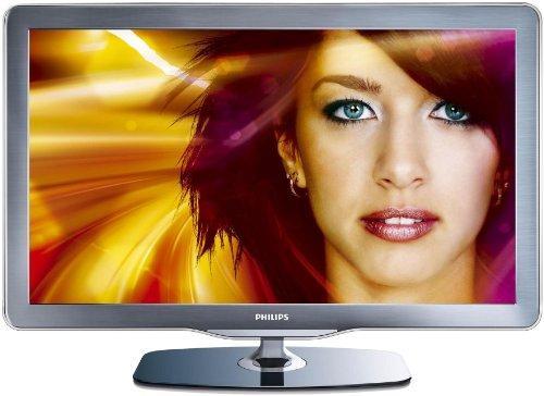 Philips 37PFL7605H/12 94 cm (37 Zoll) LED-Backlight-Fernseher (Full-HD, 100Hz, DVB-T/-C) schwarz/silbergrau gebürstete Decofront bei Amazon Warehouse Dealz für 484,03€