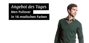 Herrenpullis in 16 Farben für 9 Euro inkl. Versand (VKF) bei C&A Online Shop