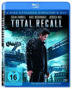 [Blu-ray] Total Recall (Extended Director's Cut)